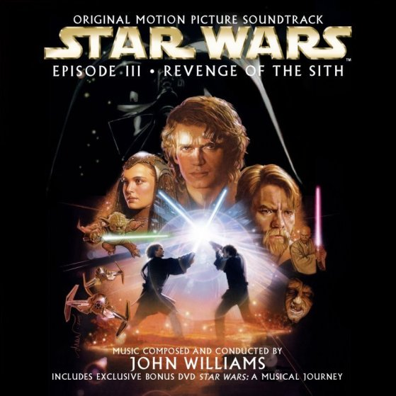 Star Wars Episode III: Revenge of the Sith Soundtrack Cover